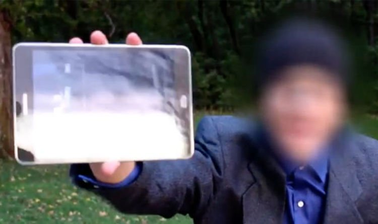 Does this video show the FUTURE? 'Time Traveller' claims to have footage from year 2045