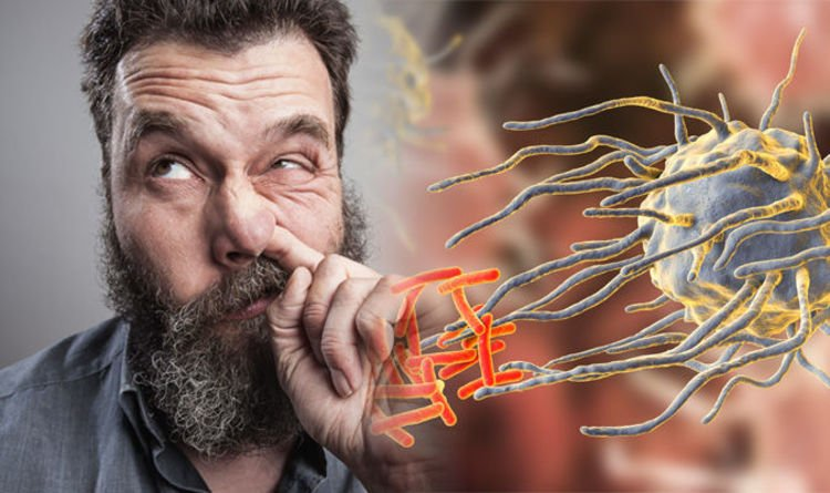WARNING: Picking your nose can lead to the spread of a life-threatening health condition