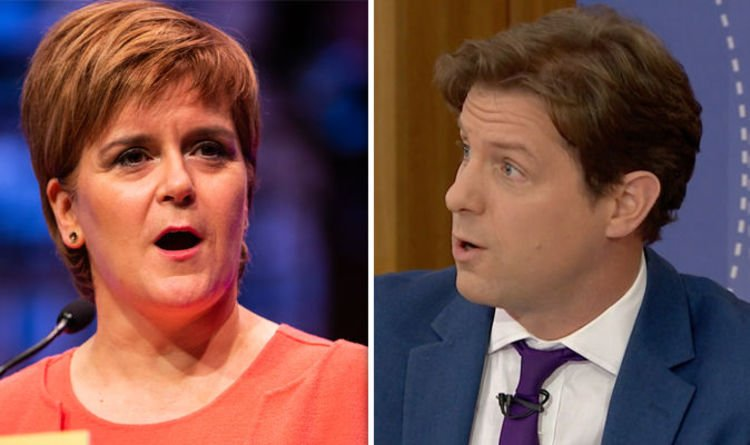 Fraser Nelson SHUTS DOWN calls for Scottish independence in BRILLIANT Question Time point