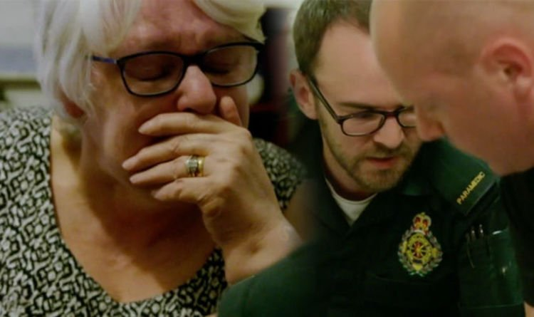 BBC Ambulance: 'That was hard to watch!' Viewers in TEARS over heartbreaking moment