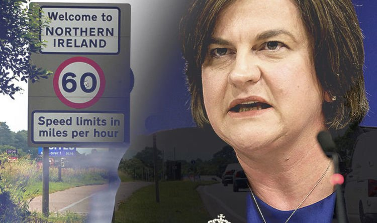 Furious Arlene Foster ready to lead Brexit rebellion after 'HOSTILE' meeting with Barnier