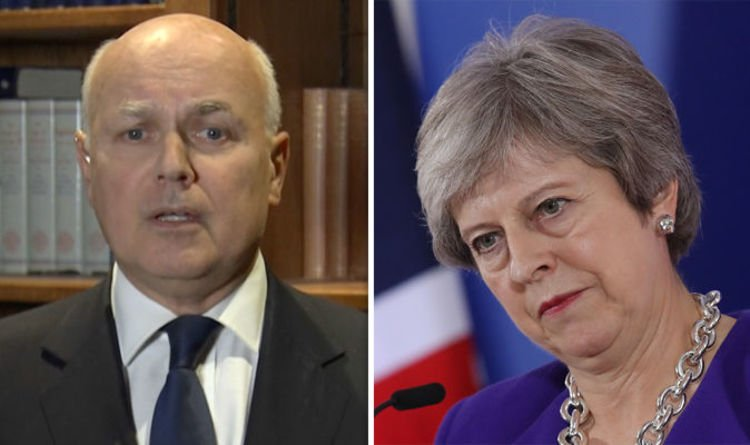 'GET ON and deliver what we voted for!' Brexiteer Iain Duncan Smith RAGES in FIERY point