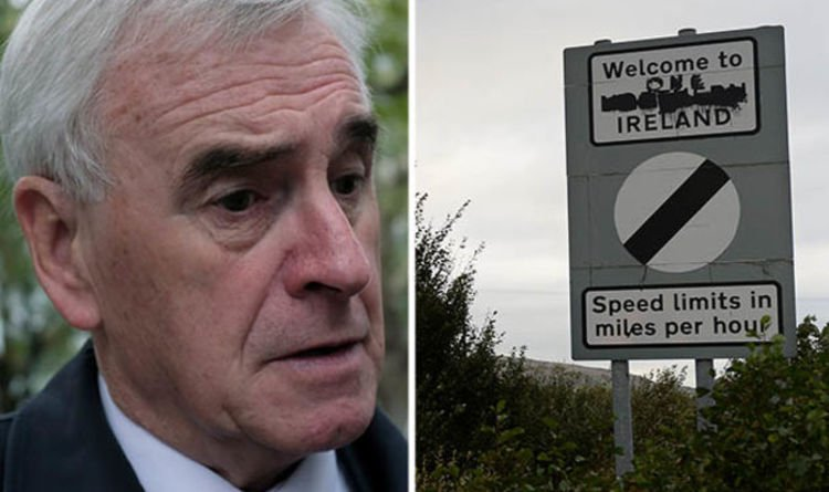 John McDonnell sparks OUTRAGE as he admits wish to BREAK UP THE UK for
