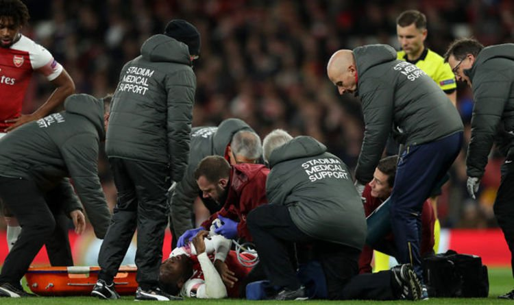 Arsenal 0-0 Sporting LIVE: Score and Europa League latest, Danny Welbeck injury