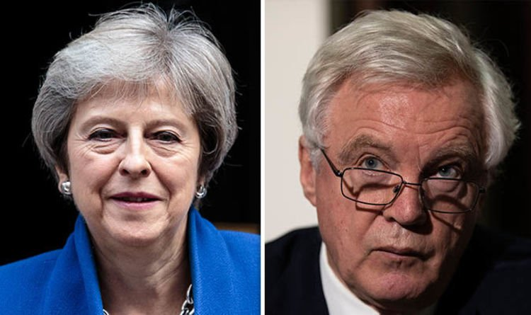'Come clean' Davis warns May to publish backstop dossier or suffer rebuke like Tony Blair