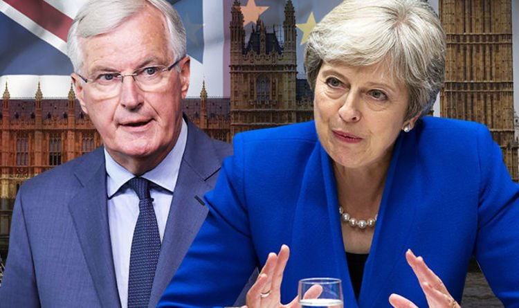 'NO second referendum' May under pressure - 24 hours to defend secret Brexit deal with EU