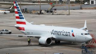 Odrzutowiec American Airlines