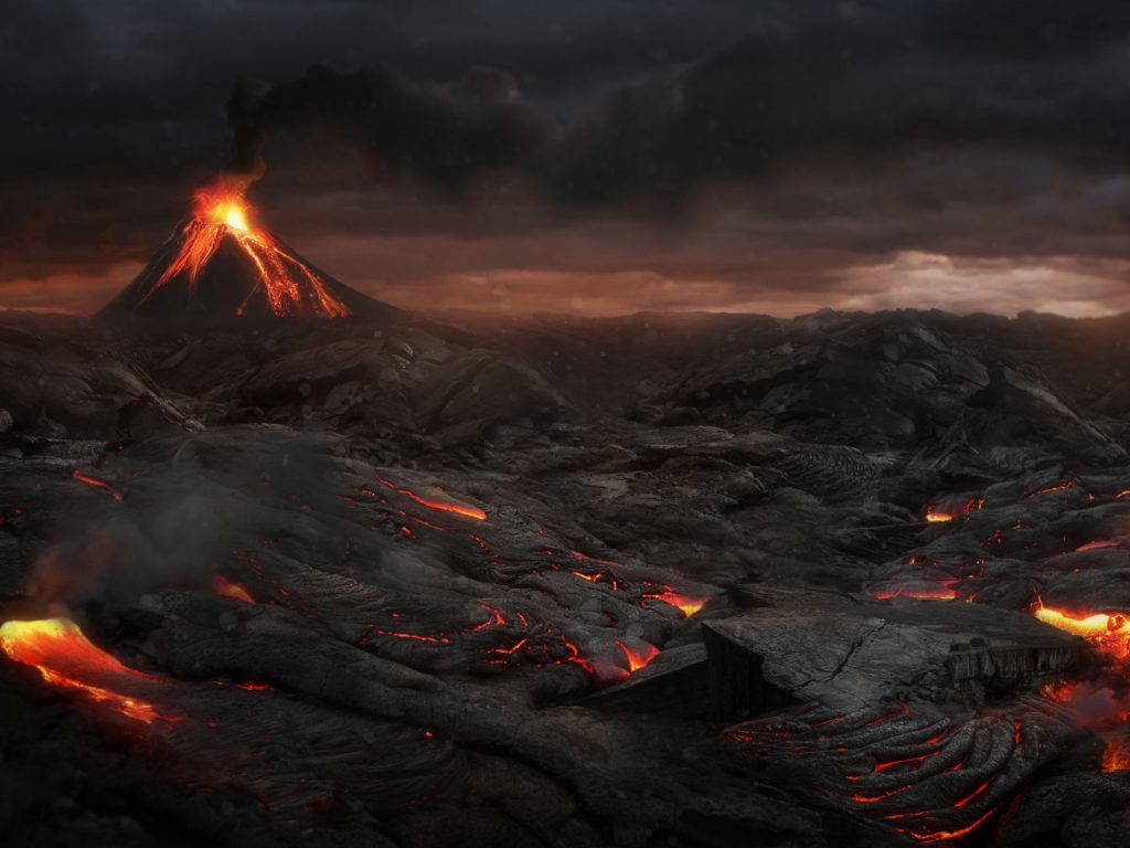 During the Permian-Triassic extinction, three-quarters of all life on land and 95 per cent of life in the oceans was wiped out