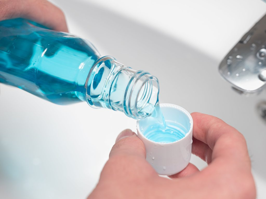 A preliminary study has found certain types of mouthwash could be capable of combatting coronavirus