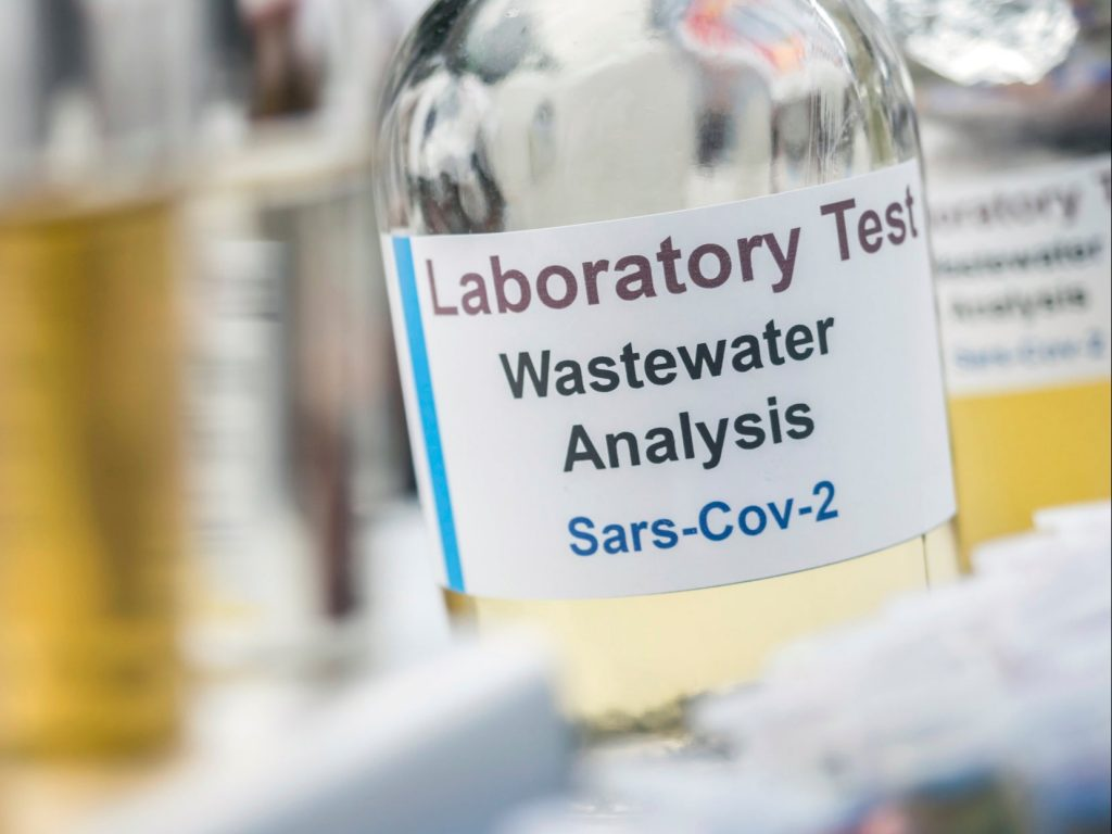 <p>Scientists have been testing wastewater for Sars-Cov-2, which could track infections of different strains of the virus</p>
