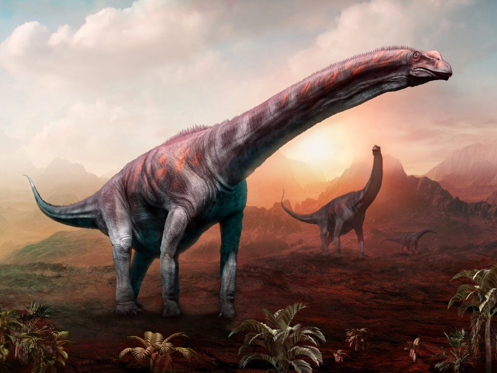 Artist's impression of an Argentinosaurus