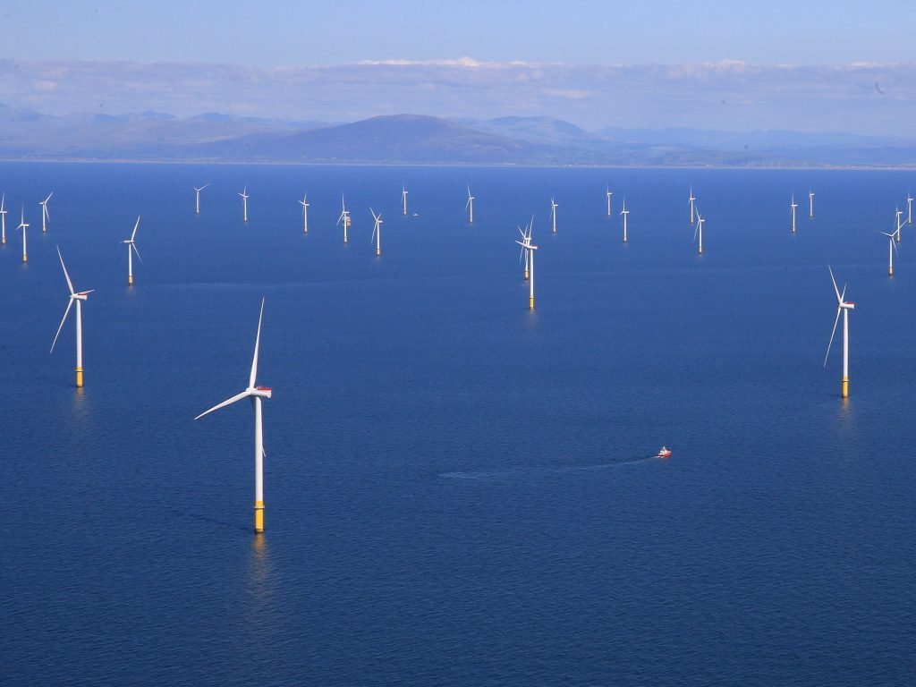 The hub will be supplied by 200 wind turbines